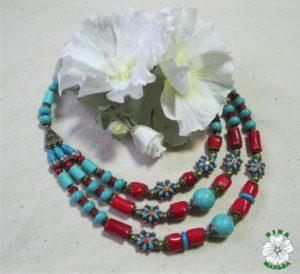 маланка, етно, намисто, корал, говліт, традиційне намисто