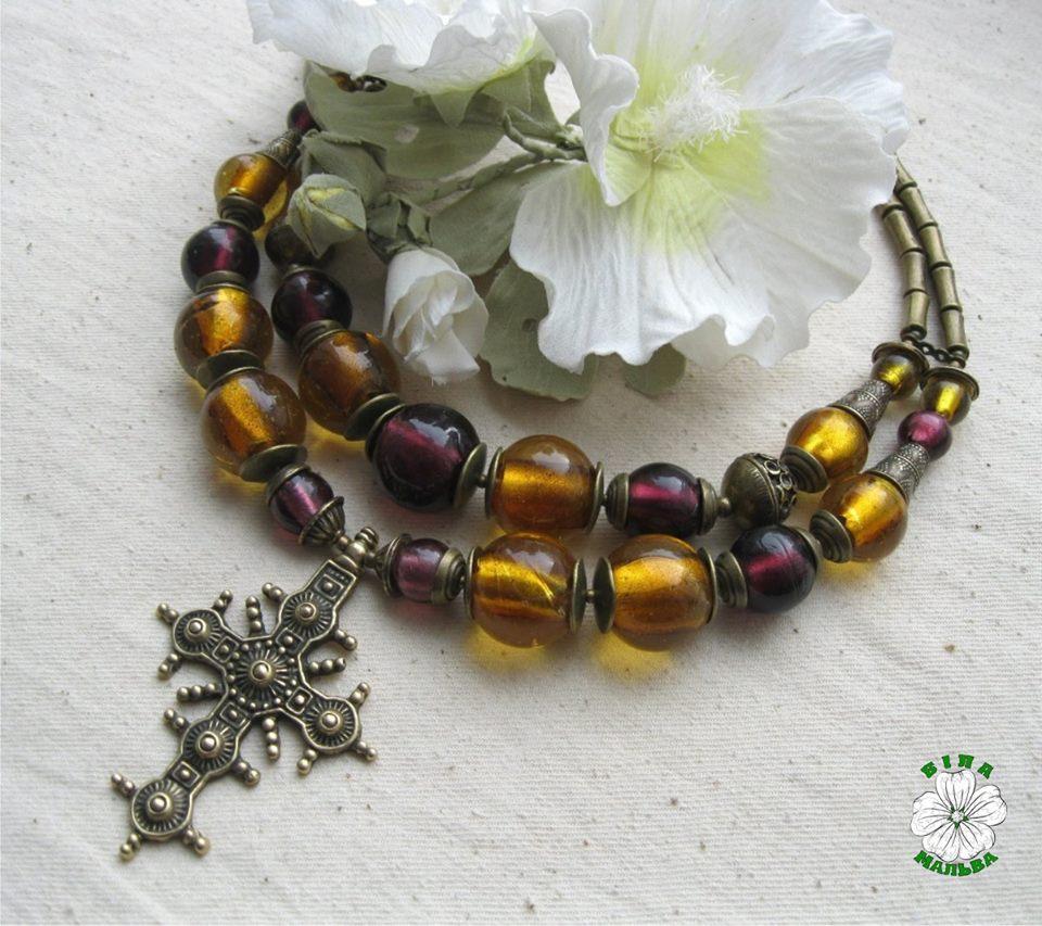 згарди, украінське намисто, литво