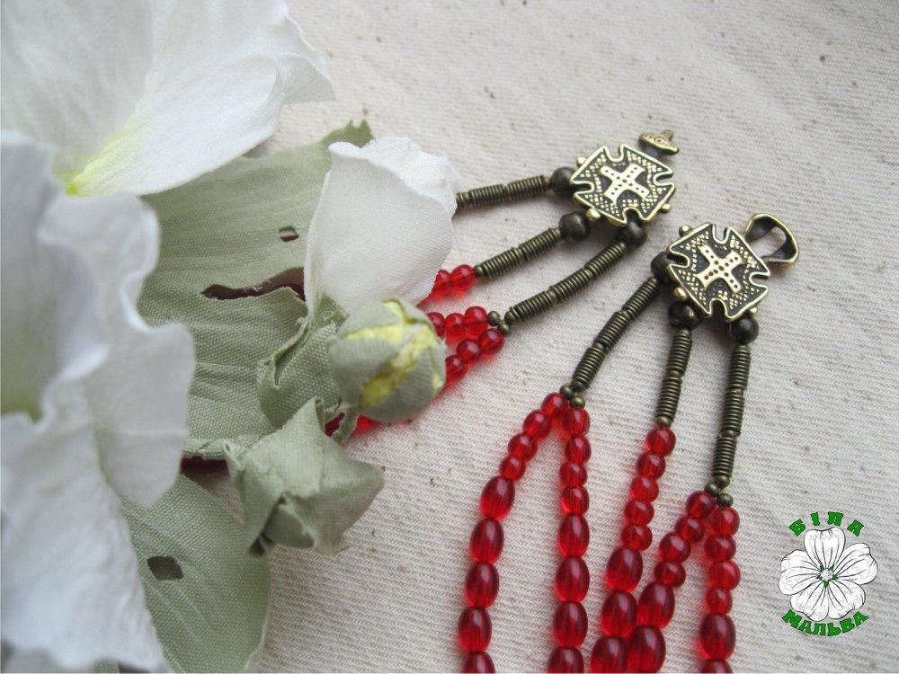 Ukraine necklace, етно, намисто, згарди, разок, чепраги