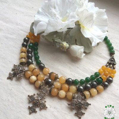 згарди, намисто, агати, піріт, necklace, етно