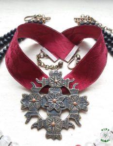 етно, українське намисто, згард, натруральне каміння