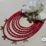 намисто, корал, корали, етно, ukrainian necklace